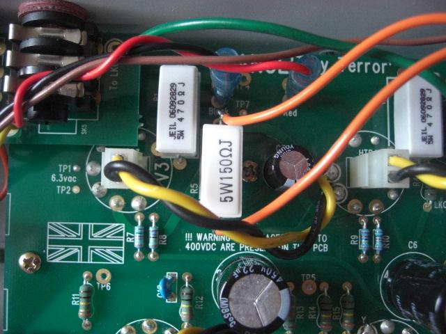 Cathode Bias Resistor 150 Ohms (Now 160 Ohm)   JJ EL84 Valve…   Flickr