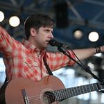 Sun, 03/08/2008 - 1:34pm - Sunday at the Newport Folk Festival, 2008 - Joey Burns takes flight