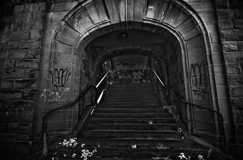 He gave me a blank stair. | by J e n s