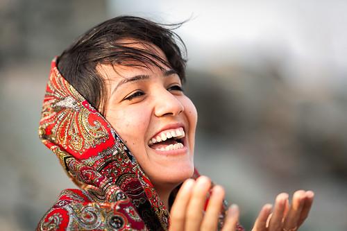 Laughing Turkoman woman | by damonlynch
