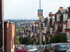 London--view from Highgate/Hamstead Heath