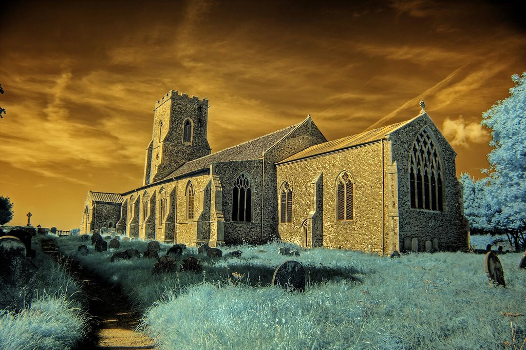 Infrared St Mary's church East Ruston Norfolk | IR HDR  IR c… | Flickr