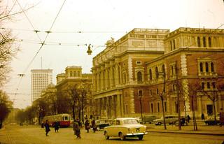 Vienna - Börse and Ringturm