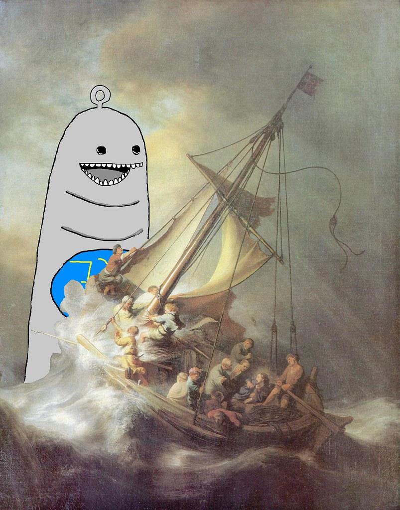 Tributo A Eje Rembrandt Cristo En La Tormenta En El Mar Flickr