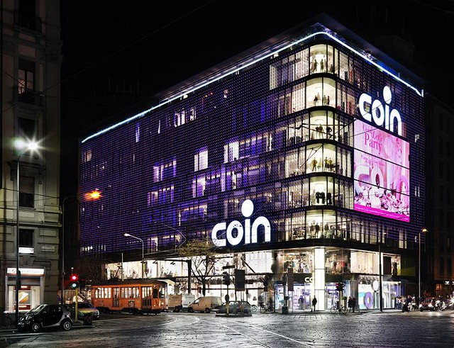 coin department store milano