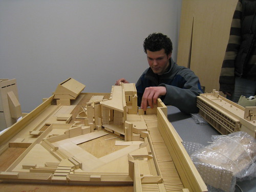 architecture models | by C.O.D. Library