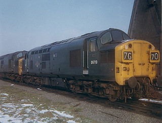 D6710 at Immingham Depot  16th Feb 1969  Old Crest, Pre TOPS. | by Railway Dave & Jim Freebury