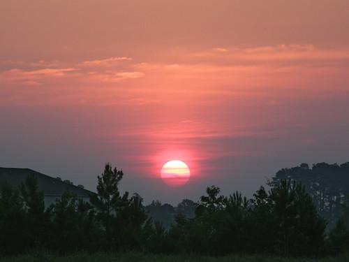 morning sky sun sunrise landscape dawn northcarolina greenville daybreak morningsky firstlight tadsunrise greenvillesunrise dailysunrise sunrisedaily