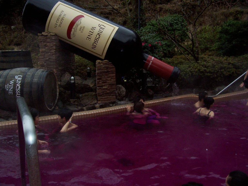 """Red Wine"" Bath"