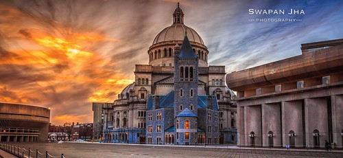 travel sunset usa building boston architecture fire dusk massachusetts newengland downtownskyline lightroom bostonskyline christiansciencemonitor cs6 leefilters nikfilter cswapanjha