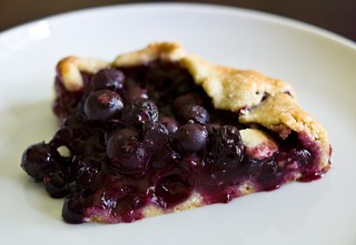 blueberry and blackberry galette | by AmyRothPhoto