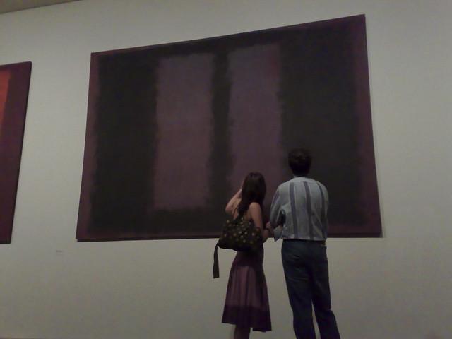 Rothko - Black on Maroon