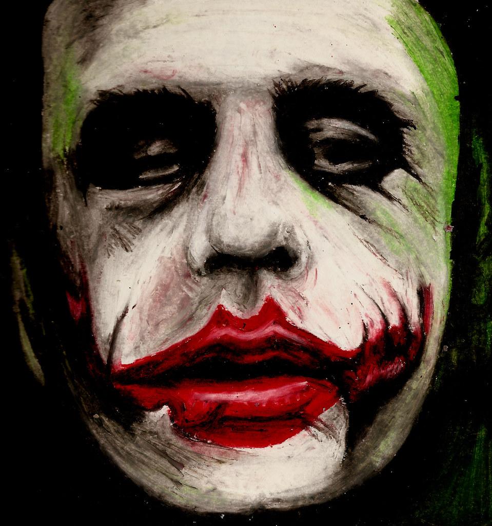 Heath Ledger The Joker Sketchbook Illustration To Comme