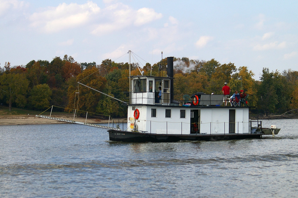 An Old Tugboat converted to a house boat   bk1bennett   Flickr