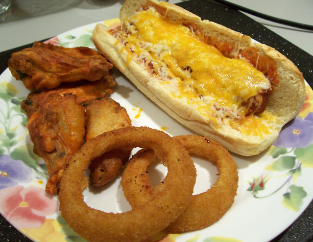 Pizza Dog and Sides