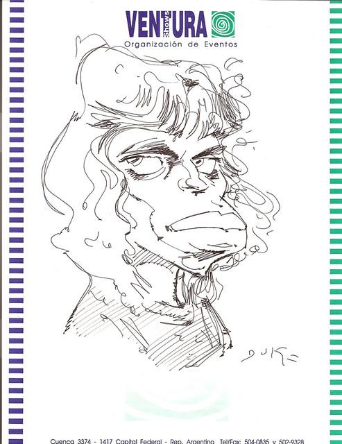 MARCELO GUERRA CARICATURISTA / caricaturas souvenir / www.marceloguerra.com.ar