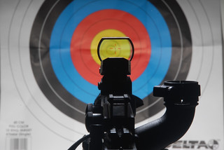 red_dot_cross_reticle   by chris.schneck