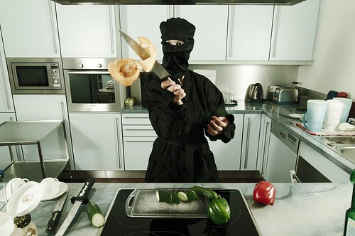 Cooking - Ninja Style | by cszar