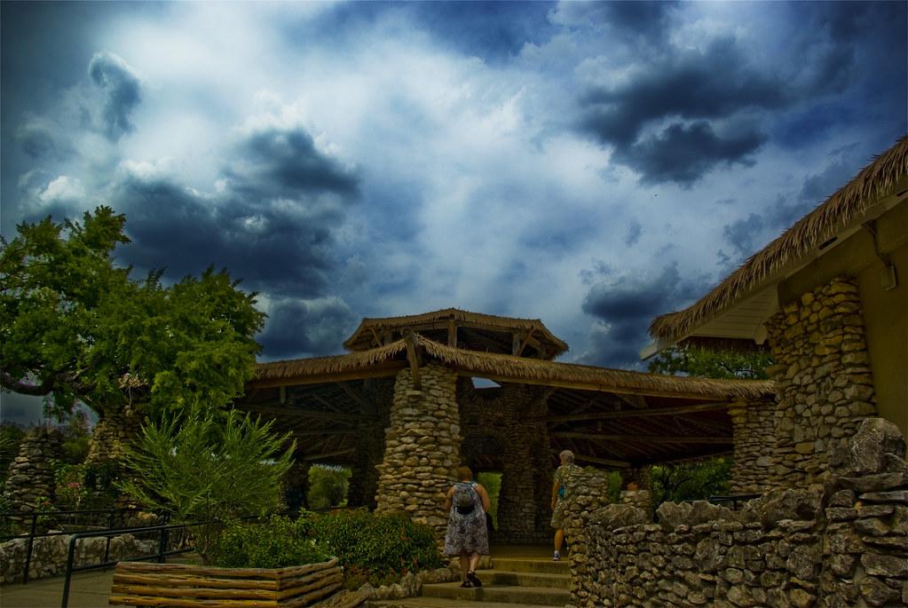 Pavillion, Japanese Tea Garden, San Antonio, TX