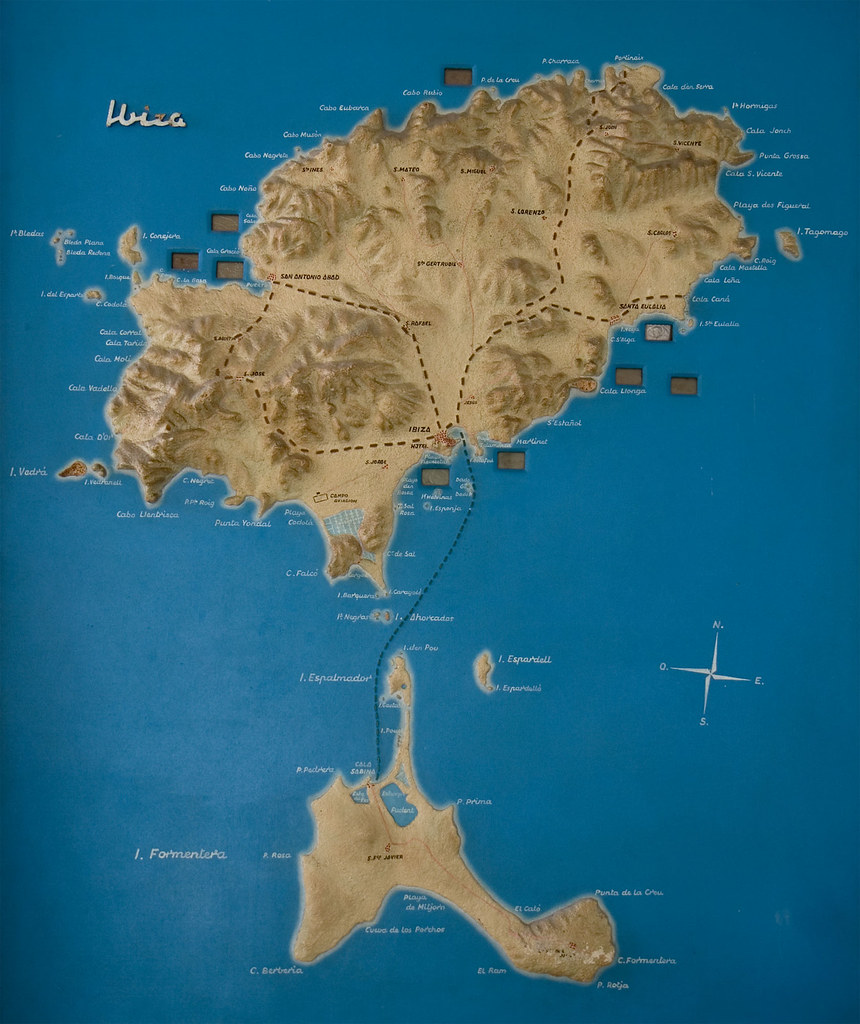 Ibiza/ Formentera map | Just to give you an idea of where an ... on arenys de mar map, cala salada map, canary islands map, ciutadella de menorca map, balearic islands map, places to visit map, mallorca map, europe map, spain map, costa brava map, islas baleares map, pitons map, minorca map, navagio map, crete map, gaucin map, alcoy map, world map, talamanca map, amiens cathedral map,