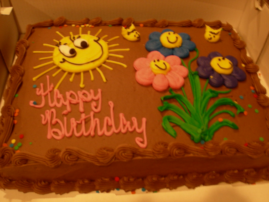 Tremendous 27Th Birthday Cake The Uncut Version I Celebrated My 27T Flickr Funny Birthday Cards Online Necthendildamsfinfo