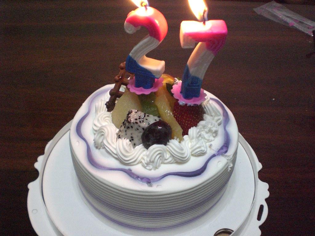 My 26 27 Birthday Cake I Was Born In 1982 So