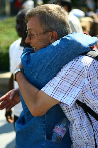 Free Hugs - 26 juillet 2008 @ Paris - Notre-Dame