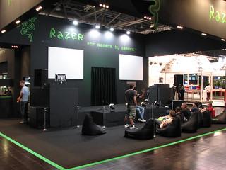 Razer booth on Games Convention 2008 | Sergey Galyonkin | Flickr