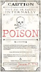 Potion Ingredients Label | by Love Manor