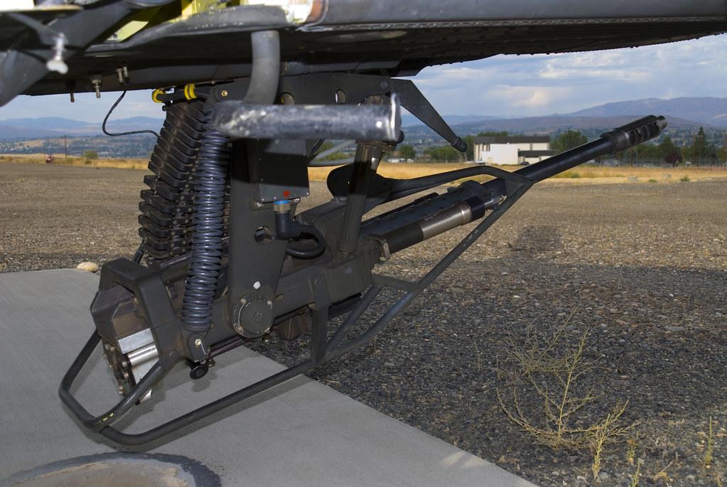 AH-64 Apache - 30 mm M230 Chain Gun | MSHennessy | Flickr
