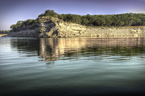 outcrop lake water rock texas tx travis ripples hdr laketravis promontory reservior lagovista photomatix 3exp top20texas bestoftexas turnbackcreek