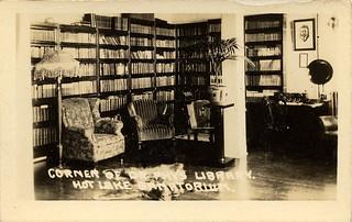 Dr. Phy's Library, Hot Lake Sanatorium, 1922