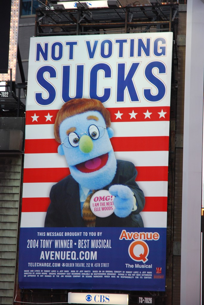 not voting sucks | ToddBF | Flickr