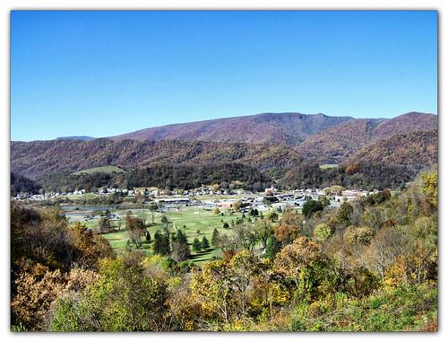 mountains landscape virginia town saltville smythcounty