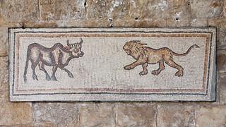 Beiteddine - Ox and Lion