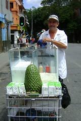 Fruit-drink stand in Medellin
