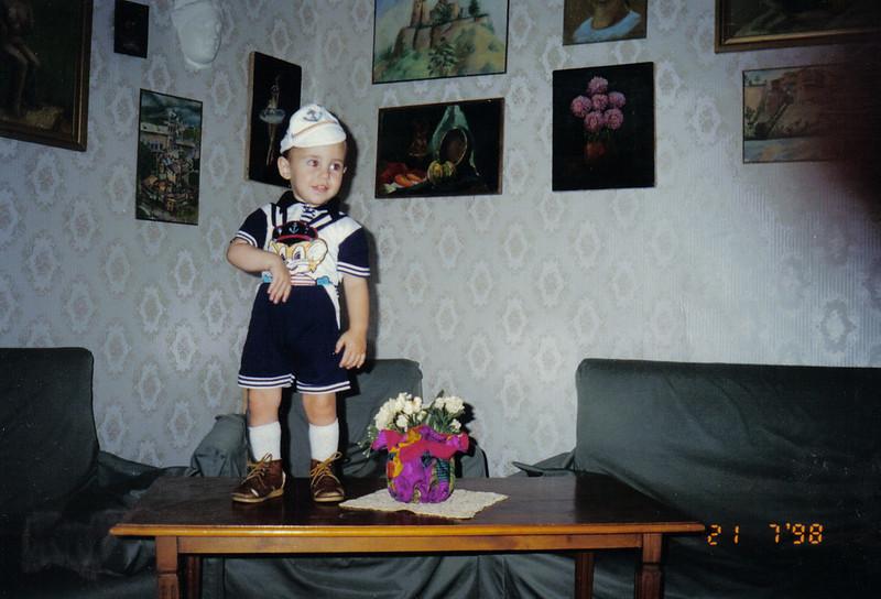 Irakli Irina's God Son Georgia 1998