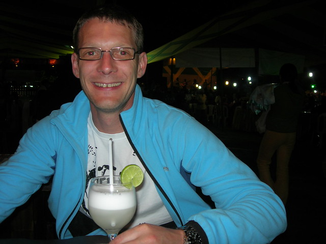 First Pisco Sour in Lima