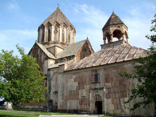 Gandzasar Monastery, Karabakh, Armenia. Built in the 13th Century