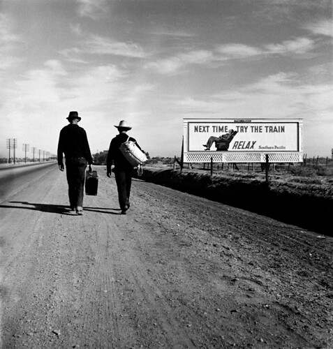 Dorothea Lange: Toward Los Angeles, California, 1937