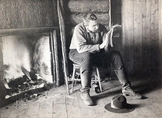 Seneca Ray Stoddard - Absorbed, 1888
