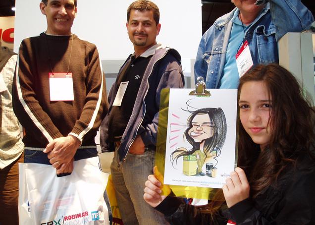 www.marceloguerra.com.ar / CARICATURAS EN EVENTOS / caricaturas en stands / caricaturas en fiestas