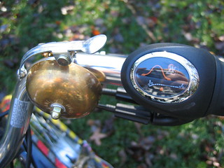 Nuvinci shifter and Crane bell on Firefly Big Dummy | by mcgurme