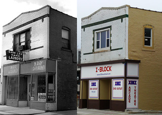 Champaign, IL Sam Lee Hand Laundry Then & Now | by army.arch