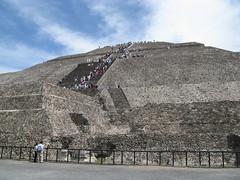 Piramide del Sole di Teotihuacan