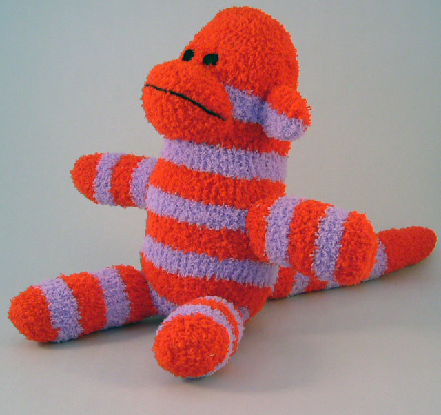 Bruno The Sock Monkey