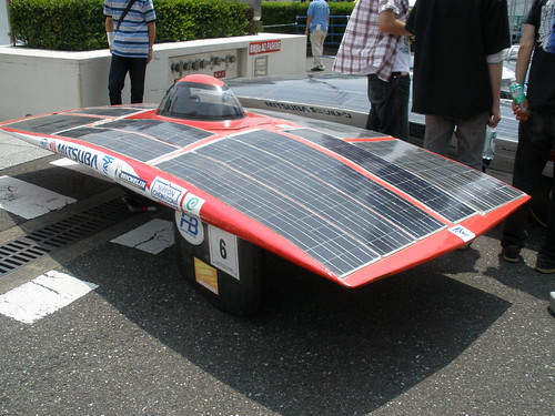 100% solar panels on top | by Moto Kusanagi