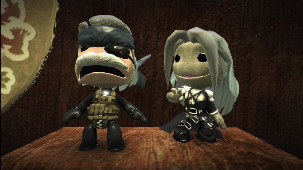 Sackboy Solid Snake and Sackboy Sephiroth | blog.us.playstat… | Flickr