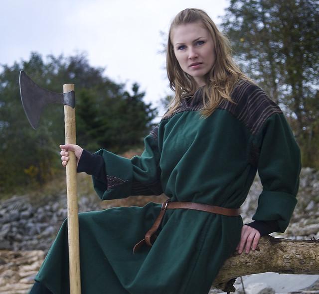 steph as a viking
