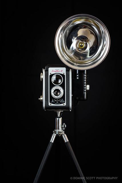 Kodak Duaflex III Vintage Camera Lamp